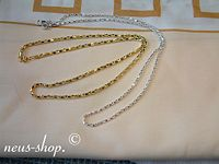 This Gold / Silver  Chain of Neus shop enlarge a closer look